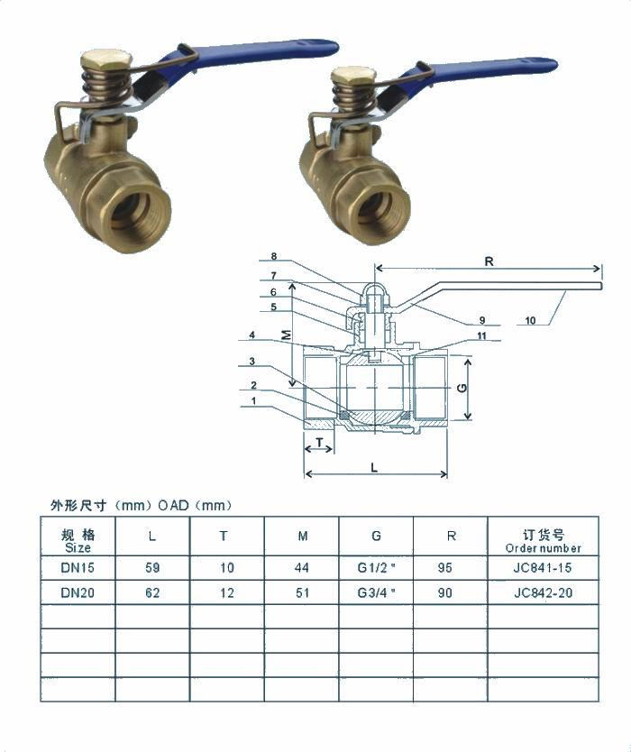 htq11f弹簧式球阀图片